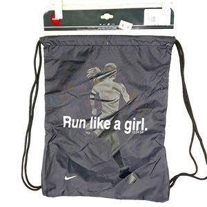 Nike Bag Packable Backpack Gym Carry Cinch NWT Run